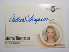 2002 BABYLON 5, THE COMPLETE - AUTOGRAPH CARD - ( A2 ) ANDREA THOMPSON