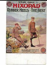 Advertising Postcard - Hixopad Rubber Heels. Hiking, Walking.