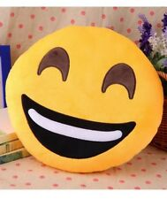 "13"" Smiley Happy Big Smile Emoji Emoticon Stuffed Plush Pillow Cushion Toy Doll"