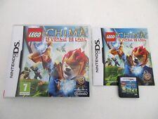 LEGO LEGENDS OF CHIMA LE VOYAGE DE LAVAL - NINTENDO DS - Jeu DS Complet FR