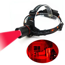 5W Zoom Red Light LED Head Light Headlamp for Astronomy Aviation Night Vision