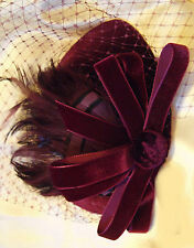 Wedding Pillbox Vintage Hats for Women