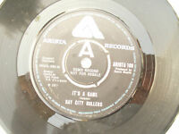 BAY CITY ROLLERS IT'S A GAME Arista 108 demo promo .....45rpm pop / single