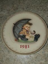 M.I.Hummel Annual Plate 1981 By Goebel/Germany 11th edition