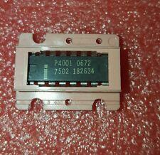 LQQK 1 psc  Grey P4001 Intel Vintage IC  4 Bit P Channel Microprocessor