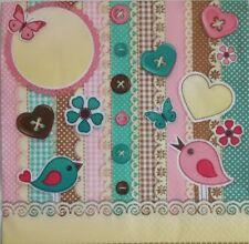 4x Paper Napkins for Decoupage,Scrapbook Elements .4 Servilletas decoupage,craft