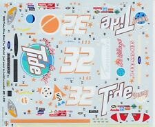 #32 Scott Pruett Tide 2000 TAURUS 1/25th - 1/24th Scale WATERSLIDE DECALS