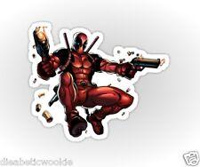 Marvel Deadpool Movie Pegatina Coche Portátil Scrapbook Mutantes X Hombres 2