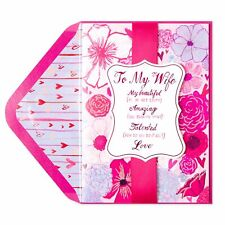 """Gorgeous Papyrus """"Beautiful Amazing Talented"""" Valentine's Day Card (For Wife)"""