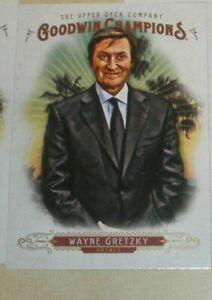2018 Upper Deck Goodwin Champions Wayne Gretzky Ice Hockey Card B
