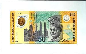 1998 MALAYSIA 50 Ringgit SUKOM NINET EIGHT BERHAD Commemorative(+1 note)#11829