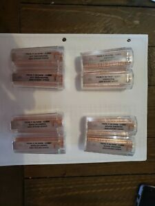 2009 (P&D) Lincoln Cent U.S. GRADED ANACS MS65RD Rolls -  Complete 8 Roll Set