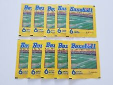 10 x Panini Baseball 94 MLB 1994 Album Sticker Packets New Sealed Packs