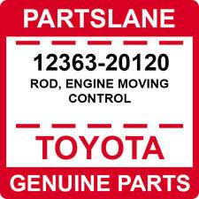 12363-20120 Toyota OEM Genuine ROD, ENGINE MOVING CONTROL
