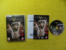 sid meier's CIVILIZATION V gods & kings expansion pack - PC dvd rom disc