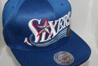 Philadelphia 76'ers M & Ness NBA HWC Link Up Snapback,Cap,Hat        $ 45.00 NEW