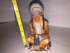 Royal Doulton The Chief Figurine Rare Signed In Gold Edition Mint HN2892 1978