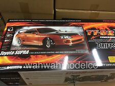 Tamiya 58613 1/10 Scale EP RC TT02-D Drift Car Kit Toyota Supra MK4 JZA80 w/ESC