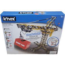 K'Nex Control Crane Tower Crane with Motor Building Set 817 Pieces