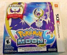 Pokemon Moon - Bonus Lunala Figure | Nintento 3DS