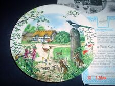 The Farm Cottage Collectors Plate Wedgwood With Certificate