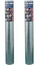 "2 Pack NASATEK 48""x10' Foil Insulation Double Bubble Reflective Insulation"