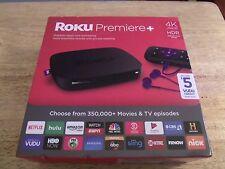 Roku Premier + 4K Ultra HD HDR 4630RW Stream TV & Movies NEW in Box Quad Core