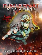 MuscleSport Magazine Summer 2017 NEW Bodybuilding Iron Maiden Eddie Lee Priest