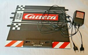 CARRERA EVOLUTION 125590 Start Finish Connecting Section WITH POWER PACK