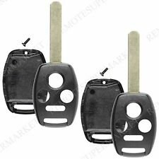 2 Replacement for 2003-2007 Honda Accord Sedan Remote Car Key Fob Shell Case