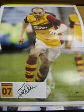 19/03/2014 Autographed Programme: Motherwell v Inverness Caledonian Thistle & 22