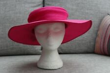 Kangol Pink Wide Brim Hat with bow Average Size Used once