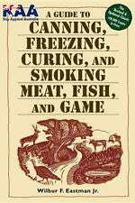 Home Butchery Book,Guide To Canning, Freezing, Curing, Smoking Meat, Fish, Game