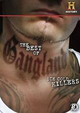 The Best of Gangland: Ice Cold Killers (DVD, 2013, 2-Disc Set) New/Sealed