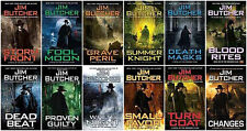 Dresden Files Series Set by Jim Butcher Paperback Books Numbers 1-12 Brand New