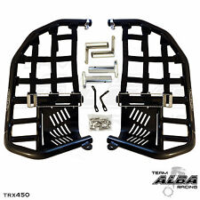 TRX  300EX 300X 250X Front Bumper  Blue /& Black Screen   Alba Racing  255 R2 BL
