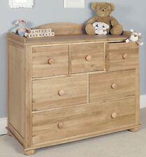 Felix childrens bedroom furniture oak changer / chest of drawers
