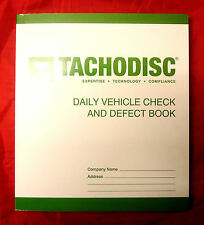 Tachodisc Daily Vehicle Check And Defect Book T20