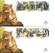Nederland - FDC 667 a+b Burgers Zoo