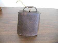 ANTIQUE  PRIMITIVE OLD METAL COW BELL
