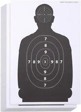 Premium 50Pack Paper Silhouette Range Shooting Targets Firearms Rifles Pistol &