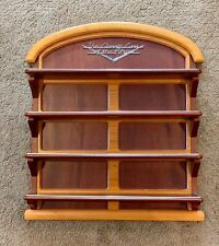 Franklin Mint Classic Cars of the Fifties Wood Wall Rack Display Shelf