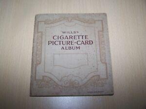 A blank Cigarette Picture-Card Album  ~ Wills's