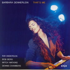 CD Album Barbara Dennerlein That`s Me (Ray Anderson, Bob Berg) 90`s Enja