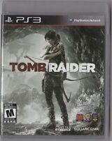 Tomb Raider (PS3, Sony PlayStation 3)