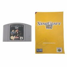 Starcraft 64 With Manual Nintendo 64 Game USED