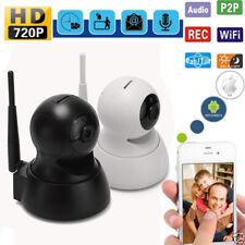 1280*720P PTZ HD Wireless WiFi CCTV Home Security IP Camera Baby Monitor 1MP UK