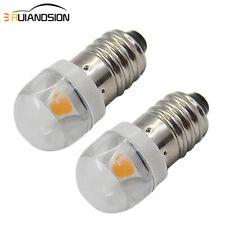 5pcs E10 Led Bulb DC 3V 4.5V Instrument Bulb Indicator Bulb Flashlight Bulb ZH