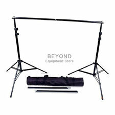 Photo Studio Telescopic Backdrop Stand Heavy Duty Background Support System Kit