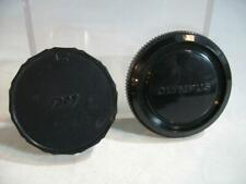 Olympus OM Series Front  Body Cap & Rear Lens Cap #33